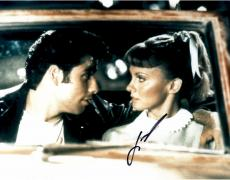 John Travolta Autographed 11'' x 14'' In Car Photograph