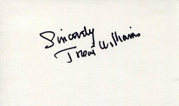 Treat Williams Everwood Star Wars Hair Chicago Fire 127 Hours Signed Autograph