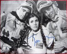 Treat Williams Star Wars with Carrie Fisher signed 8x10 photo BAS Beckett Auth