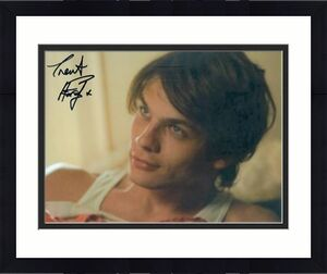 Trent Ford autographed photo (Actor Model Vampire Diaries) size 8x10 image #A1