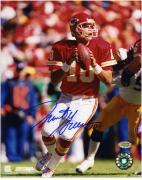 "Trent Green Kansas City Chiefs Autographed 8"" x 10"" Red Uniform Photograph"