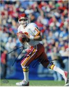 "Trent Green Kansas City Chiefs Autographed 8"" x 10"" White Uniform Photograph"