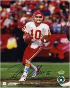 "Trent Green Kansas City Chiefs Autographed 8"" x 10"" Action Photograph"