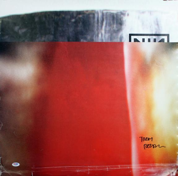 Trent Reznor Authentic Signed The Fragile Limited Edition Poster Psa/dna V18291