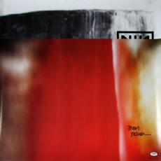 Trent Reznor Authentic Signed The Fragile Limited Edition Poster Psa/dna W78079