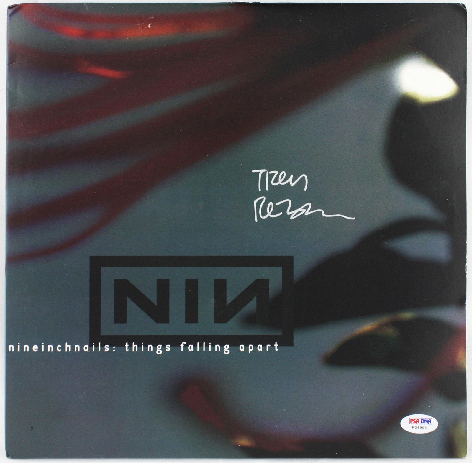 Trent Reznor Authentic Signed Things Falling Apart Vinyl Nin Psa/dna ...