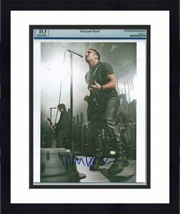 Trent Reznor Nine Inch Nails NIN Signed 8x10 Photo PSA/DNA GEM MT 10 Autographed