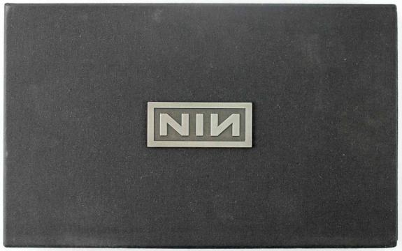 Trent Reznor Signed Limited Edition Ghosts I-iv Cd Box Set Psa/dna Coa S80906