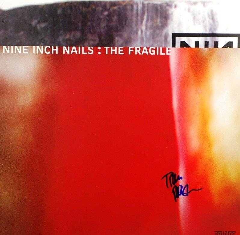 Trent Reznor Nine Inch Nails The Fragile Signed AUTOGRAPH PSA/DNA
