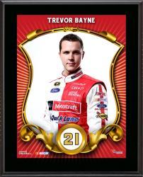 Trevor Bayne Number 21 Sublimated 10.5'' x 13'' Composite Plaque