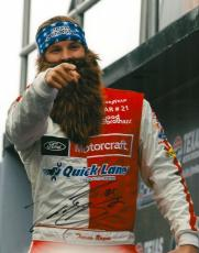 Signed Trevor Bayne Photo - 8X10 DUCK DYNASTY COA