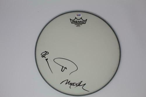 Trey Anastasio, Mike Gordon, Page Mcconnell Signed Autograph Drumhead Phish Psa