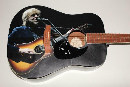 Trey Anastasio Phish Signed Autograph Custom 1/1 Gibson Epiphone Acoustic Guitar