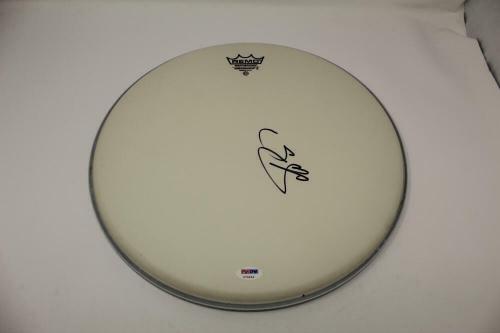 "Trey Anastasio Signed Autograph 14"" Drumhead - Phish, Farmhouse, Junta Rare! Psa"