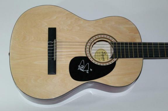 Trey Anastasio Signed Autograph Fender Brand Acoustic Guitar Phish, Burn It Down