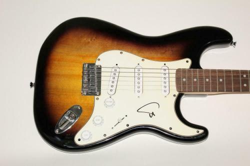 Trey Anastasio Signed Autograph Fender Brand Electric Guitar Phish Bill Breathes
