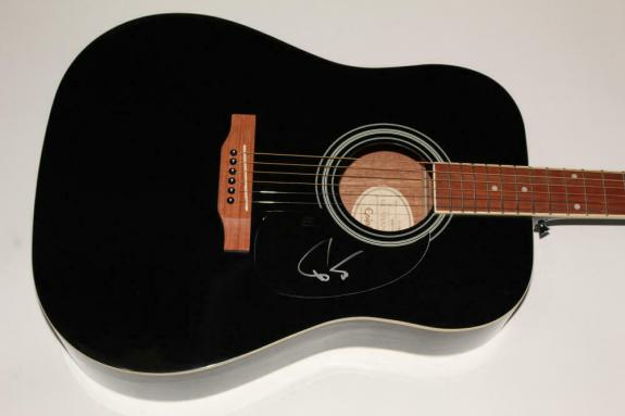 Trey Anastasio Signed Autograph Gibson Epiphone Acoustic Guitar - Phish Id: 9370