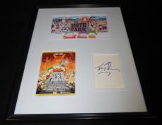 Trey Parker Signed Framed 16x20 Photo Set South Park
