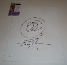 Trey Parker signed South Park 11x14 original Sketch JSA Authenticated N03199