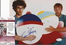 Trey Parker South Park Jsa Coa Signed Autograph 8x10 Photo Super Rare L@@k Cool
