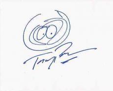 Trey Parker South Park Jsa Loa Signed Autograph Sketch Kenny 8x10 Photo Rare