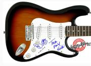 TRICK PONY Autographed Signed Guitar & Proof PSA/DNA Cert   AFTAL