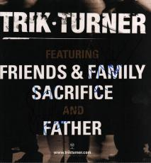 Trik Turner Autographed Signed Album Flat UACC RD COA AFTAL