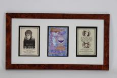 Trio of Concert Handbills Promo Handouts Incl. (2) Bob Dylan (incl. One feat. Willie Nelson & The Black Crowes 12×23 Display