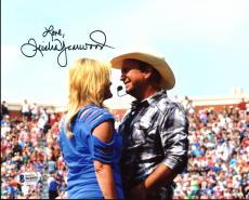 Trisha Yearwood Country Musician Signed 8X10 Photo w/ Garth Brooks BAS #B41093