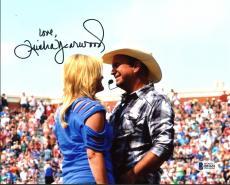 Trisha Yearwood Country Musician Signed 8X10 Photo w/ Garth Brooks BAS #B51651