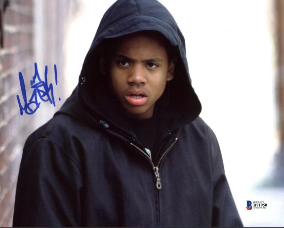Tristan Mack Wilds The Wire Signed 8X10 Photo Autographed BAS #B71950