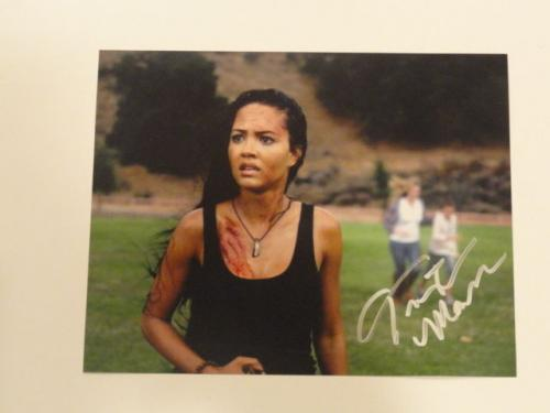 Tristin Mays Signed 8x10 Photo Macgyver The Vampire Diaries Autographed Proof
