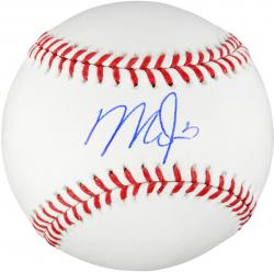 Mike Trout Los Angeles Angels of Anaheim Autographed Baseball