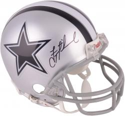 Troy Aikman Dallas Cowboys Autographed Riddell Mini Helmet - Mounted Memories