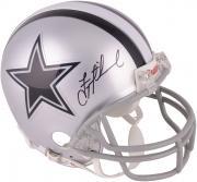 Troy Aikman Dallas Cowboys Autographed Riddell Mini Helmet