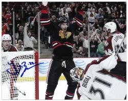"Chicago Blackhawks Troy Brouwer Autographed 8"" x 10"" Photo"