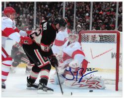 "Chicago Blackhawks Troy Brouwer Autographed 8"" x 10"" Photo -"