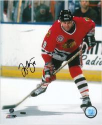 "Chicago Blackhawks Troy Murray Autographed 8"" x 10"" Photo"