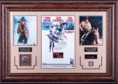 John Wayne True Grit Replica Signature Display