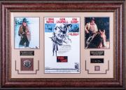 John Wayne True Grit Replica Signature Display