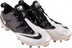 Desmond Trufant 12/15/13 Falcons Game Used Cleats