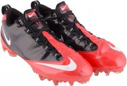 Desmond Trufant 12/29/13 Falcons Game Used Cleats