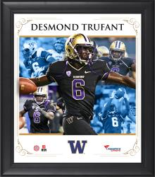 DESMOND TRUFANT FRAMED (WASHINGTON) CORE COMPOSITE - Mounted Memories