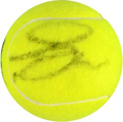 TSONGA, JO-WILFRIED AUTO (WIMBLEDON) TENNIS BALL - Mounted Memories