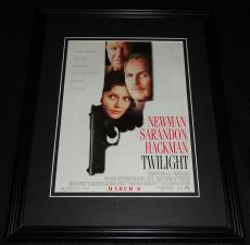 Twilight 1998 Framed 11x14 ORIGINAL Advertisement Paul Newman Susan Sarandon