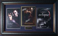 The Twilight Saga - Cast Autographed Framed Display