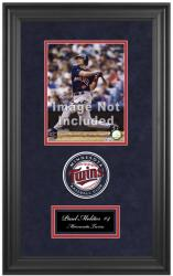 "Minnesota Twins Deluxe 8"" x 10"" Team Logo Frame - Mounted Memories"