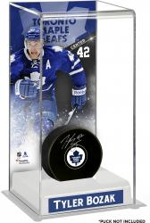 Tyler Bozak Toronto Maple Leafs Deluxe Tall Hockey Puck Case