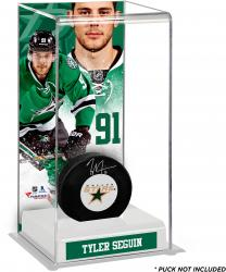 Tyler Seguin Dallas Stars Deluxe Tall Hockey Puck Case
