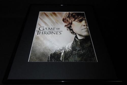 Tyrion Lannister Game of Thrones Framed 16x20 Poster Display Peter Dinklage